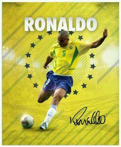 Ronaldo of Brazil wallpaper.