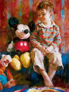 Michael & Inessa Garmash artwork from the 'Disney Fine Art' collection, presented by Peabody Fine Art Gallery Art And Illustration, Disney Fine Art, Disney Kunst, Galerie D'art, Inspiration Art, Canvas Artwork, Art Plastique, Fine Art Gallery, Oeuvre D'art