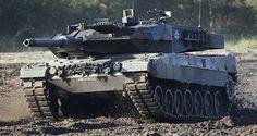 Deutscher Panzer Leopard - 2