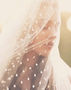 dotted veil.