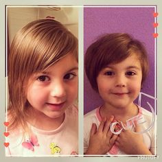 Toddler Haircut - Pixie Cut - Before and After