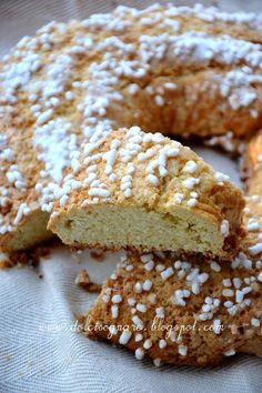 """In Emilia-Romagna la ciambella è il dolce più conosciuto ed apprezzato; con l'impasto di questo dolce semplice, che tutte le """"azdore""""..."""