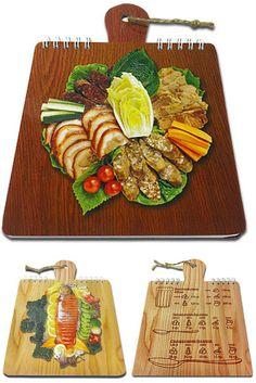 $3 Блокнот для рецептов, 40 листов, перекидной на металлической пружине «Ассорти» | Cuisine recipe notepad | Cook note
