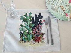 Cactus, Tableware, Floral, Dinnerware, Tablewares, Flowers, Dishes, Place Settings, Flower