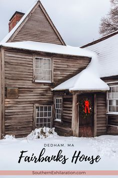 During your next visit to Massachusetts, stop by the The Fairbanks House Historical Site in Dedham. It boasts the title of MA's oldest house. Travel Ideas, Travel Inspiration, Travel Tips, Great Places To Travel, Places To Go, Work Travel, Usa Travel, Dedham Massachusetts, Fairbanks House