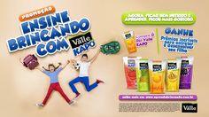 Promoção ENSINE BRINCANDO COM KAPO on Behance