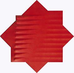 Rosso | Agostino Bonalumi, Rosso (1975)