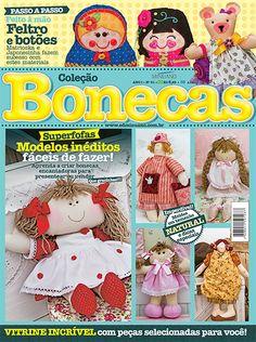 Artesanato - Bonecas : COL BONECAS 001 - Editora Minuano
