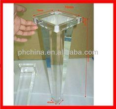 atl 006 modern factory sell acrylic legs for furnitureclear acrylic furniture legs acrylic furniture legslucite table leghigh transparent