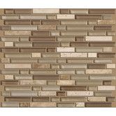 "Found it at Wayfair - Shaw Floors Mixed Up 12"" x 12"" Random Linear Mosaic Stone Accent Tile in Canyon"