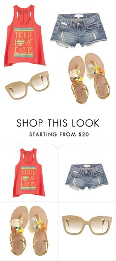 """""""Summer!"""" by karina-bm ❤ liked on Polyvore featuring Radà and CÉLINE"""