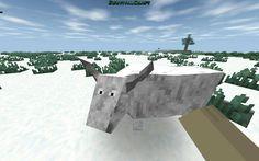 White bull I found on survivalcraft !