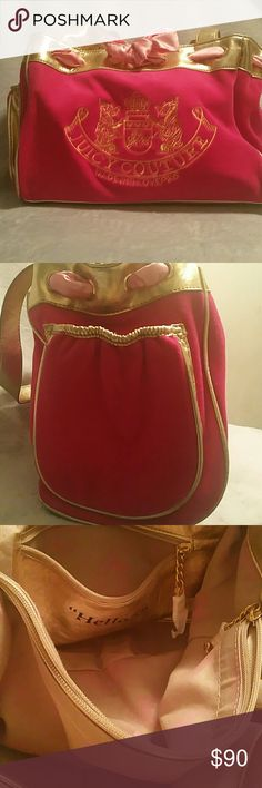 Perfect condition Juicy Couture!! This authentic Juicy Couture purse is perfect for every Fashionista! This purse is in excellent condition, and is priced right! Juicy Couture Bags Satchels