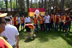 Galatasaray 110 yil piknik Kiev Ukrayna