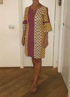 Fabulous ankara gowns to rock - DarlingNaija African Dresses For Kids, African Print Dresses, African Print Fashion, African Fashion Dresses, Ankara Gowns, Ankara Dress, African Attire, African Wear, Chitenge Dresses