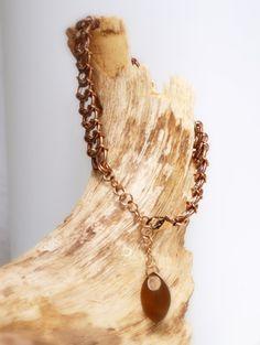 """Armband """"Copper Tail""""  von Chain-Elle Art's - wunderschöner Chainmaille Schmuck. Finde zu Deiner Geschichte Dein passendes Schmuckstück. Einzigartig."""