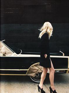 """Photographed by Claudia Knoepfel and Stefan Indlekofer; Model: Melissa Tammerjin; Vogue Germany September 2010, Trendspotting""""."""