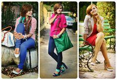 Andreea Balaban pentru TinaR toamnă 2012. MI-NU-NA-TĂ! Let It Be, Colors, How To Wear, Style, Swag, Colour, Color, Outfits, Paint Colors