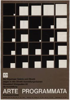 Enzo Mari. Arte Programmata, Kinetische Kunst. 1963