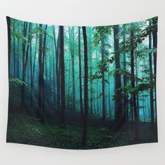 Buy magic forest by Hunterofwoods as a high quality Wall Tapestry. Worldwide shipping available at Society6.com. Just one of millions of products available.