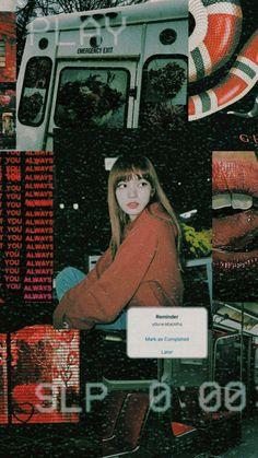 Lisa Blackpink Wallpaper, Iphone Wallpaper, Vaporwave Anime, K Pop, Movies And Series, Photoshoot Pics, Blackpink Jennie, Blackpink Lisa, Kpop Aesthetic