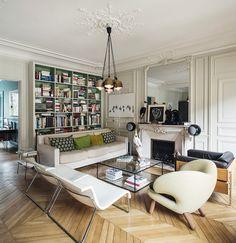 appartement des Bombard, Paris.