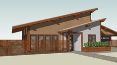 Large preview of 3D Model of Solar House