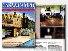 Este mes nos menciona la revista Casa y Campo, en una sección dedicada a #revestimientos para el #hogar. La imagen muestra uno de nuestros #proyectos de #vivienda con pavimentos de #terracota. #Marbella #Granada #Andalucía
