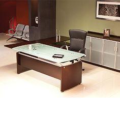 Escritorio Tempo  cristal - Muebles modulares - Muebles economicos - Muebles economicos en el df