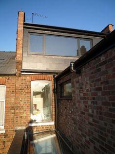 Contemporary Dormer window