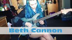 "Beth Cannon: ""Anastasia""- Slash Guitar Solo Cover   Elizabeth II cover's the guitar solo to Slash's ""Anastasia""! ""Anastasia""- Slash Guitar Solo Cover Beth Cannon"