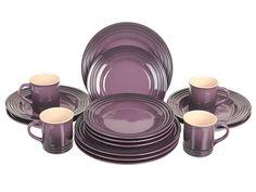 16-Piece Dinnerware Set Le Creuset cherry | Kitchen | Pinterest | Dinnerware Kitchens and Porcelain dinnerware  sc 1 st  Pinterest & 16-Piece Dinnerware Set Le Creuset cherry | Kitchen | Pinterest ...