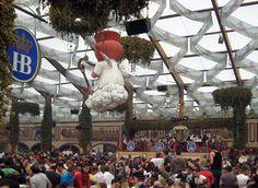 Where I spent most of my weekend at Oktoberfest 2007 in Munich...inside the Hofbrau Festzelt tent