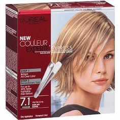 L'Oreal Paris Couleur Experte Express Easy 2-in-1 Color + Highlights, Vanilla Icing, Dark Ash Blonde 7.1