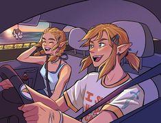 Anime Couples, Cute Couples, Julia Davis, Fairy Fountain, Botw Zelda, Fanart, Nintendo Characters, Legend Of Zelda Breath, Breath Of The Wild