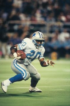 Barry Sanders, Detroit Lions Hall of Fame Running Back