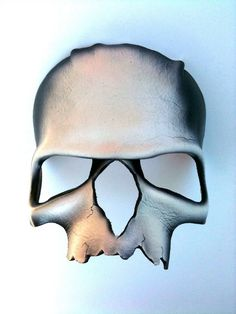 Skull Leather Mask by mrhydesleather on Etsy, $40.00