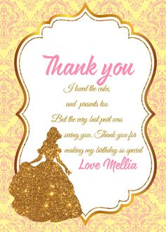 Beauty and the Beast Invitation Beauty and the by LoveBirthdayShop