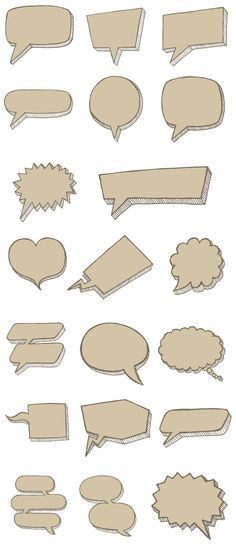 Speech Bubble Photo Overlays