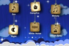 "For the insomniacs and city dwellers of the iPhone community, a free app called Relax Melodies can create a soothing medley of noises that can inspire a short nap or long slumber. The app boasts 41 sounds from ""Cat Purring"" to ""Icy Snow,"" and users can choose either to combine noises or listen to one at a time. Conversely, the app can also be used to help its user stay awake or maintain concentration – even create an ambiance perfect for a yoga session at home or in the studio. You can also store favorite combinations of sounds in a folder. The app won't shut down on its own, so you'll be able to wake up to the same calm ambiance you fell asleep to. (Just watch your battery power.)"