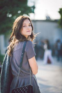 Monika Jagaciak by Jean Baptiste Soulliat Elie Saab - Paris Fashion Week PAP SS16