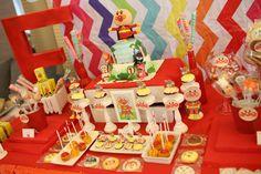 Anpanman candy/dessert buffet