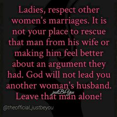 . Other Woman, Bible Quotes, Feel Better, Cheating, Best Quotes, Relationships, Marriage, Mindfulness, Wisdom