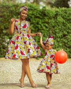 African Print Dresses Styles For Ladies 2019 African Dresses For Kids, African Wear Dresses, African Fashion Ankara, African Children, Latest African Fashion Dresses, African Print Fashion, African Attire, Fashion Prints, Indian Fashion