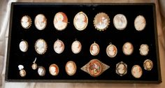 Vintage Jewelry Cameo - Bing Images  Curious Peddler