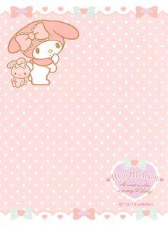 Sanrio My Melody Mini Letter Set by Crazy Sugarbunny, via Flickr