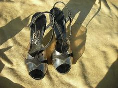 Sexy Black Suede/Clear Plastic 50's-60's by jobellaswearwithal