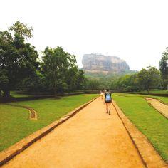 Sigiriya, or Lion Rock, Sri Lanka. A Sri Lankan UNESCO World Heritage sit and an amazing insight into Sri Lanka's fascinating ancient history.