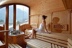 Finnische Sauna im Sporthotel Manni