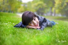 Cute boy photography in nature.